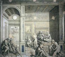 Франческо ди Джорджио Мартини. Святые