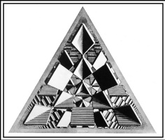 Мауриц Корнелис Эшер. Три пересекающиеся плоскости