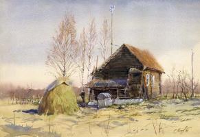 Sergey Alekseevich Makarov. Spring