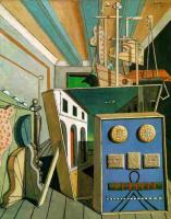 Джорджо де Кирико. Метафизический интерьер с печеньем