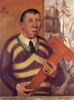 Отто Дикс. Портрет художника Франца Радзивилла