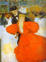 Пьер Боннар. Женщина в красном платье