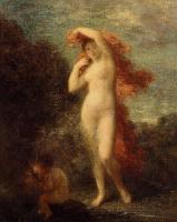 Анри Фантен-Латур. Венера и Амур