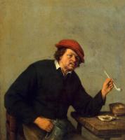 Адриан ван Остаде. Курильщик
