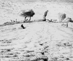 Жан-Франсуа Милле. Пейзаж