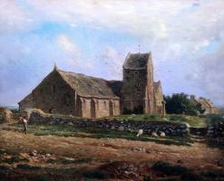 Жан-Франсуа Милле. Церковь Гревилля
