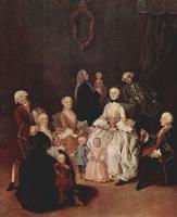 Пьетро Лонги. Портрет патрицианской семьи