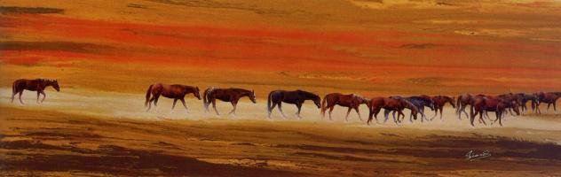 Пересекая пустыню