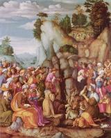 Франческо Убертини. Моисей иссекает воду из скалы