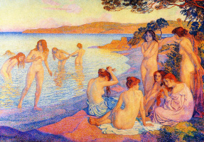 Theo van Rysselberghe. Time for sunbathing
