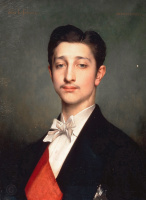 Жюль Жозеф Лефевр. Луи Наполеон (1856-1879)