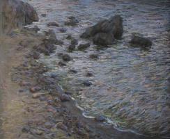 Ivan Grigorovich Voloshin. Sea shore