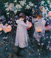Гвоздика, лилия, лилия, роза