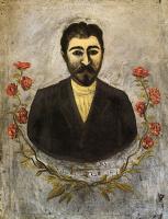 Нико Пиросмани (Пиросманашвили). Портрет железнодорожника