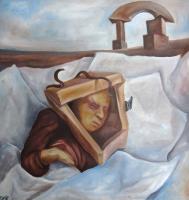 Сергей Козин. The dream of a young trunk. 1994