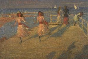 Бегущие девушки