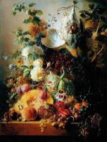 Георг Якоб Иоганн ван Ос. Натюрморт из фруктов