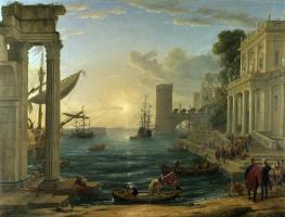 Departure of the Queen of Sheba