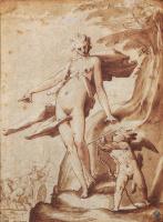 Хендрик Гольциус. Венера заказывает Амуру выстрел в сердце Плутона.