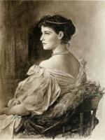 Фридрих Август фон Каульбах. Портрет жены Великого князя Сергея Александровича Елизаветы Федоровны