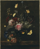 Отто Марсеус ван Скрик. Букет цветов