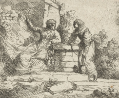 Ян Ливенс. Христос и самаритянка