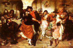 Эгисто Ланцеротто. Танцы