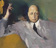 Portrait Of Folke Söderholm