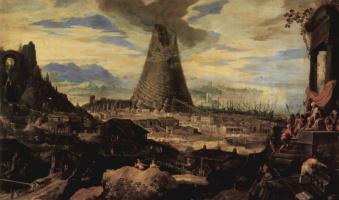 Людовик Тёпут. Строительство Вавилонской башни
