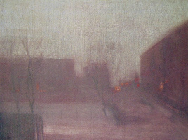 James Abbot McNeill Whistler. Trafalgar square
