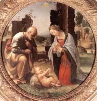Фра Бартоломео. Поклонение младенцу Христу