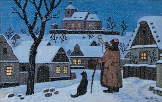 Josef Lada. Winter