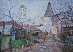 Борис Петрович Захаров. В Боровске.
