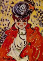 Морис де Вламинк. Женский портрет