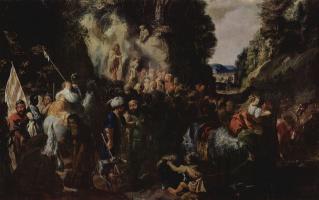 Иоганн Хюльцманн. Проповедь Иоанна Крестителя