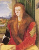 Альбрехт Дюрер. Портрет Святого Себастьяна со стрелой