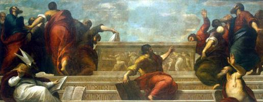 Апостолы у гроба Девы Марии