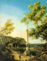 Джованни Антонио Каналь (Каналетто). Речной пейзаж
