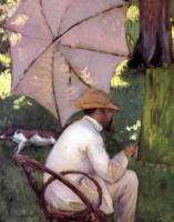 Гюстав Кайботт. Живописец под зонтиком