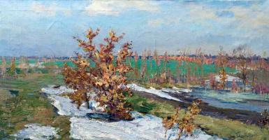 Николай Глущенко. Первый снег
