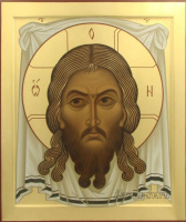 Виктория Викторовна Сорокина. Нерукотворный образ Спасителя - настолпная икона