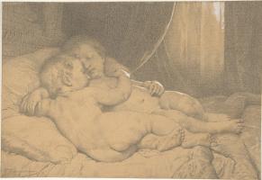 Вильям Адольф Бугро. Спящие дети