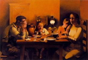 Мануэль Руис Пипо. Ужин в семье