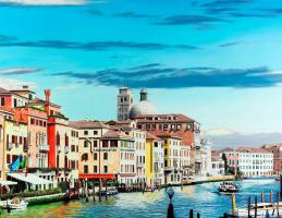 Рафаэлла Спенс. Весна. Большой Канал в Венеции