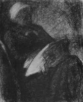 Жорж Сёра. Женщина за вышиванием