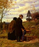 Василий Григорьевич Перов. Старики-родители на могиле сына
