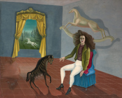 Leonora Carrington. Self-portrait