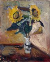 Henri Matisse. Sunflowers in a vase