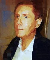 Татьяна Якунина. Сергей. Портрет мужа. Живопись.