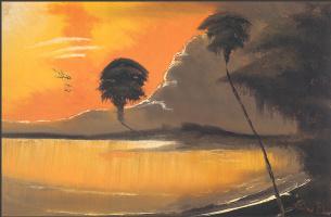 Гарольд Ньютон. Тропический пейзаж 43